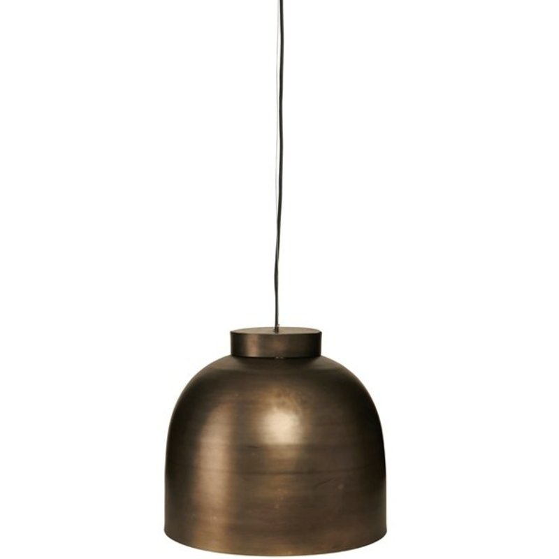 House Doctor-collectie Hanglamp 'Bowl' gunmetal