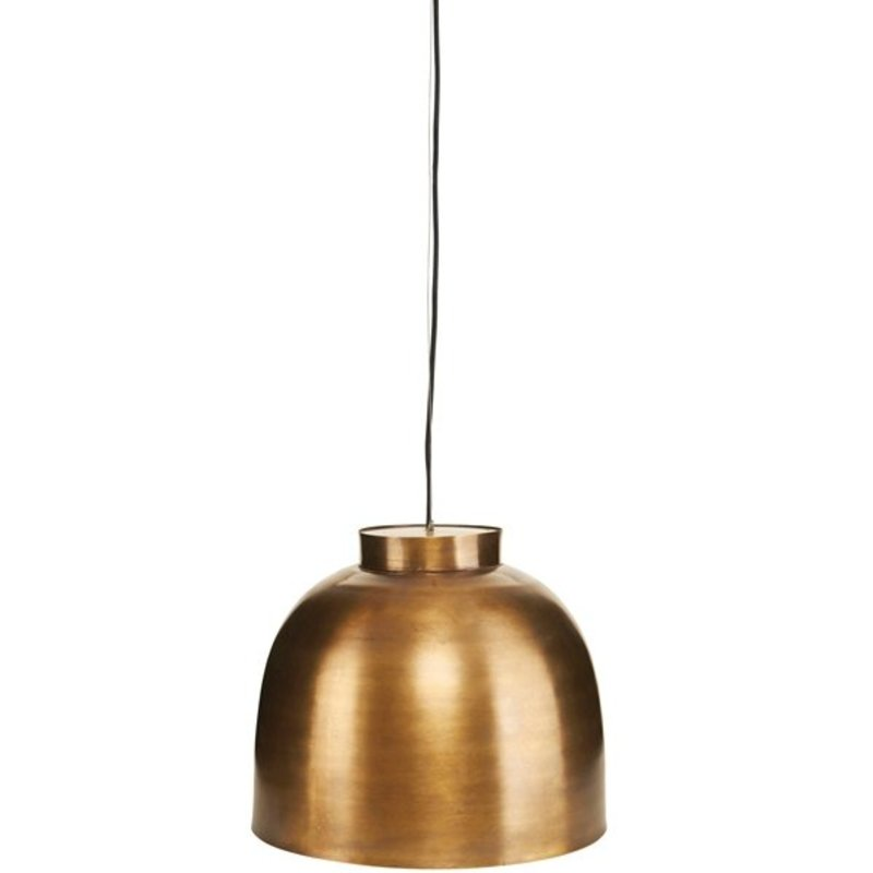 House Doctor-collectie Pendant 'Bowl' brass