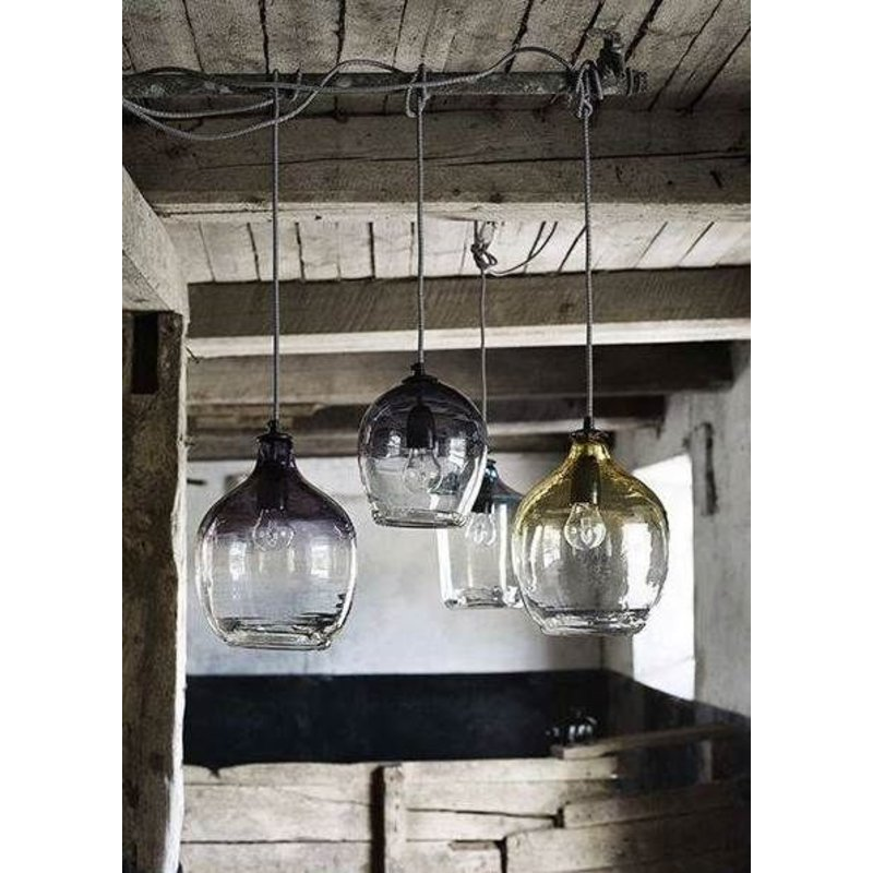 "Nordal-collectie Hanging lamp ""BUBBLE"" smoke small"