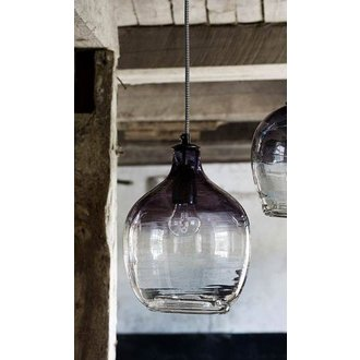 Nordal Hanging lamp 'BUBBLE' smoke H: 26 cm