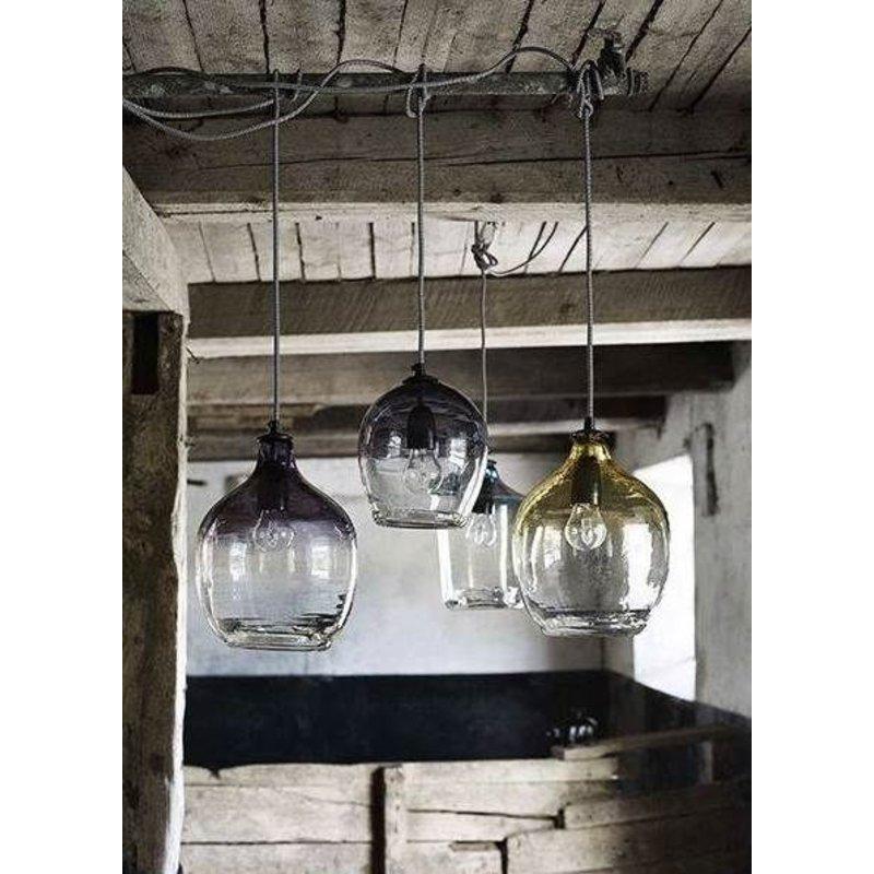 Nordal-collectie Hanglamp 'BUBBLE' smoke h:26 cm