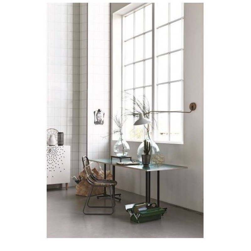 House Doctor-collectie wall lamp 'Desk' Green