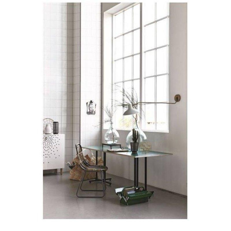 House Doctor-collectie wandlamp 'Desk' groen