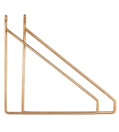 House Doctor-collectie Wall mounts brass
