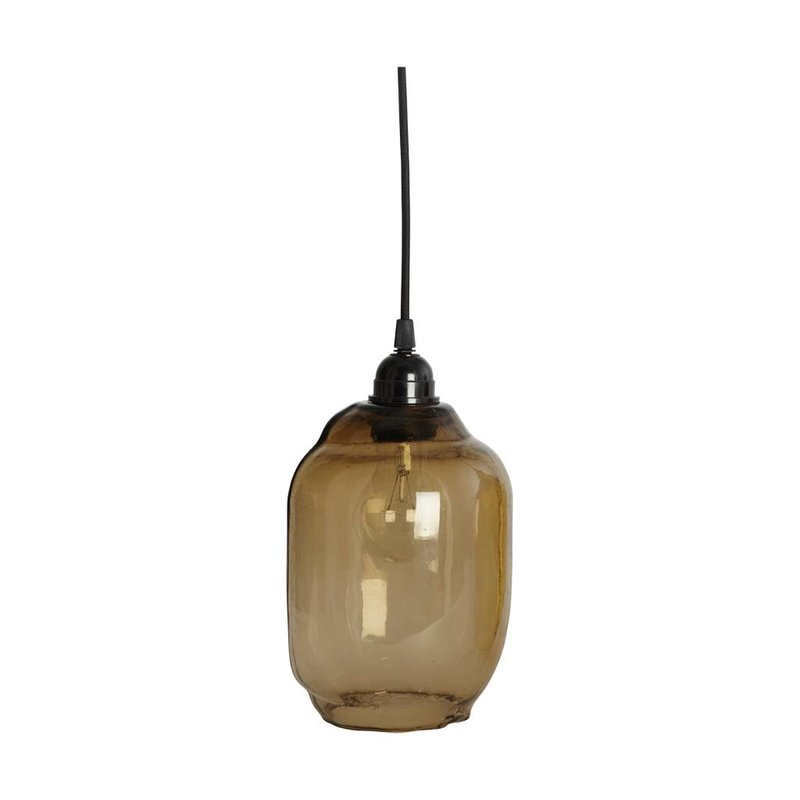 House Doctor-collectie Glass lampshade GOAL smoke-gray