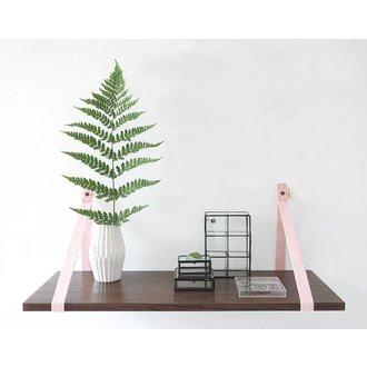 E|L by DEENS.NL Set (2) shelf brackets 'PIEN' canvas light pink