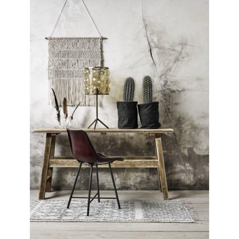Nordal-collectie Leren stoel