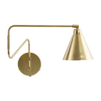 House Doctor Wall lamp brass GAME