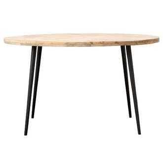 House Doctor Round dining table CLUB Natural