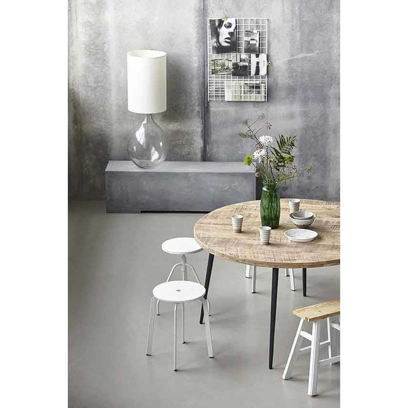 House Doctor-collectie Ronde eettafel CLUB naturel