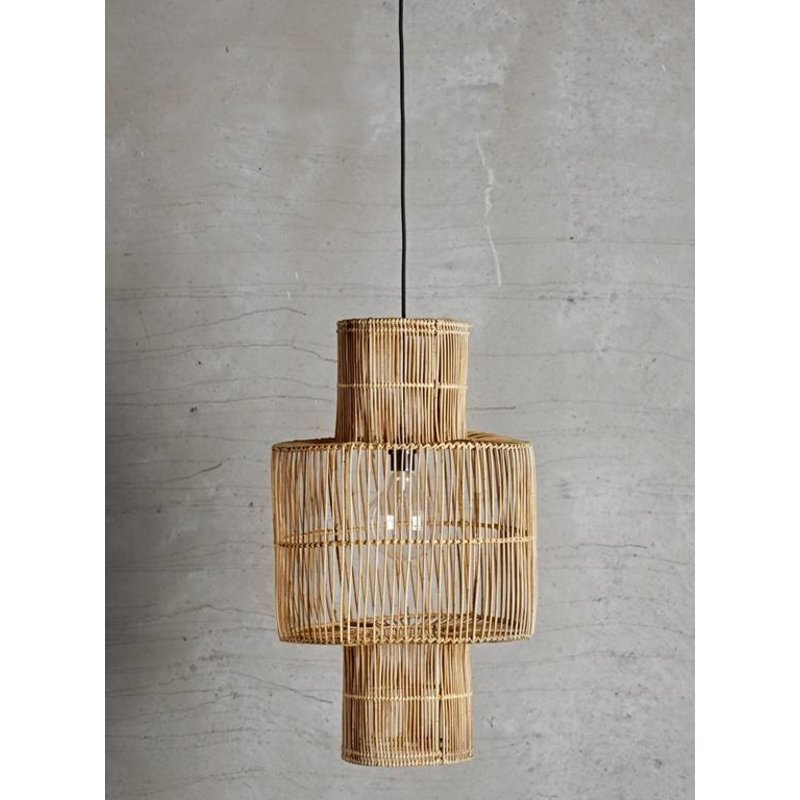 Tine K Home-collectie Hanglamp rattan BIRD