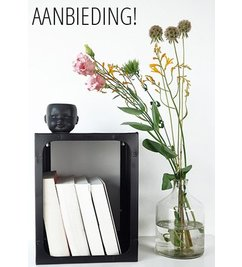 E|L by DEENS.NL-collectie Wall cabinet William Black