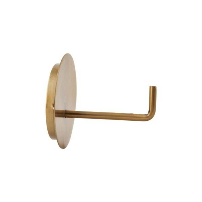 House Doctor-collectie Toiletrolhouder TEXT brass