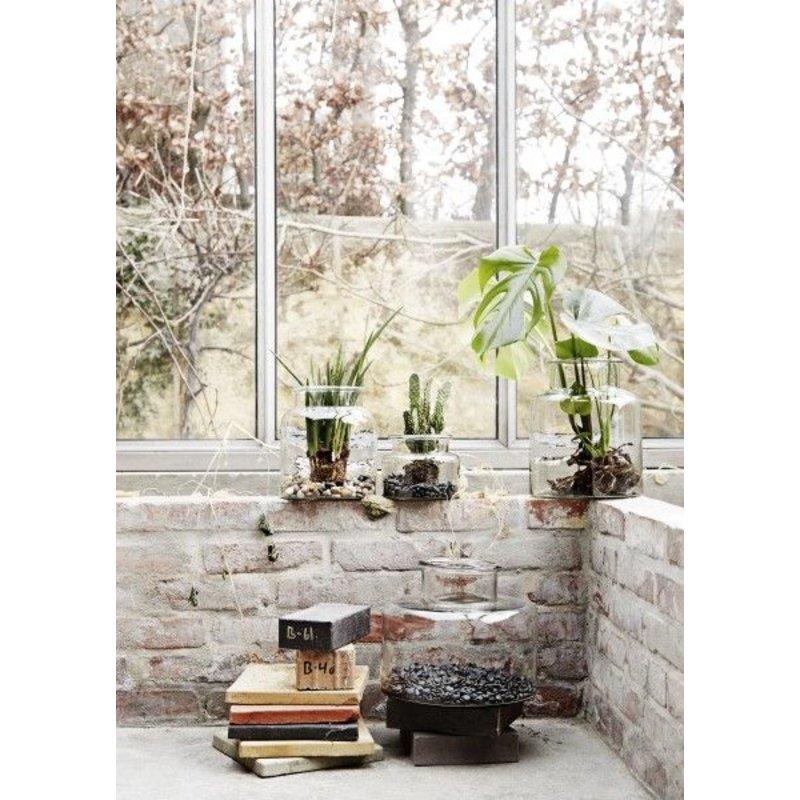 Madam Stoltz-collectie Glazen vaas - L-