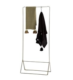 Madam Stoltz-collectie Clothes rack antique brass