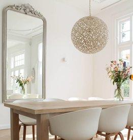 B keuze Hanglamp Design ORIENTE Kleur: Antiek Wit / Dia 40 cm