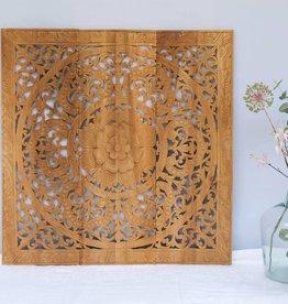 simply pure Geschnitzte Wandpaneele Design ORNAMENTO, Farbe: naturfarben, verschiedene Abmessungen