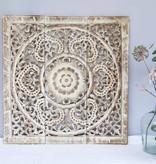 Simply Pure Handgeschnitztes Wandpaneel Design ORNAMENTO, Farbe: between white, verschiedene Abmessungen