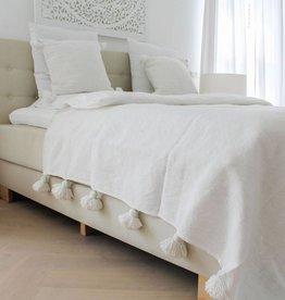 simply pure Pompom set ( 2 kussens en een deken )