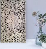 simply pure Handgeschnitzte Wanddekoration Design LOTO RETTANGOLO, verschiedene Abmessungen und Farben