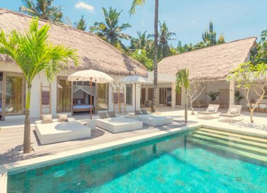 Luxury boutique villa Eastern Bali