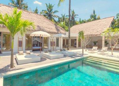 Luxus Ferienvilla im Osten von Bali