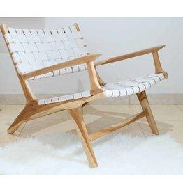 Lounge stoel MARLO ( maatwerk) met leuning