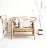 simply pure Handgefertigter Lounge-Stuhl MALAWY