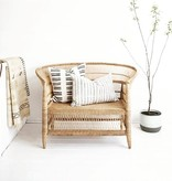 simply pure Handgemaakt lounge stoel MALAWY