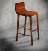 Handgemaakte Teak bar stoel CHER