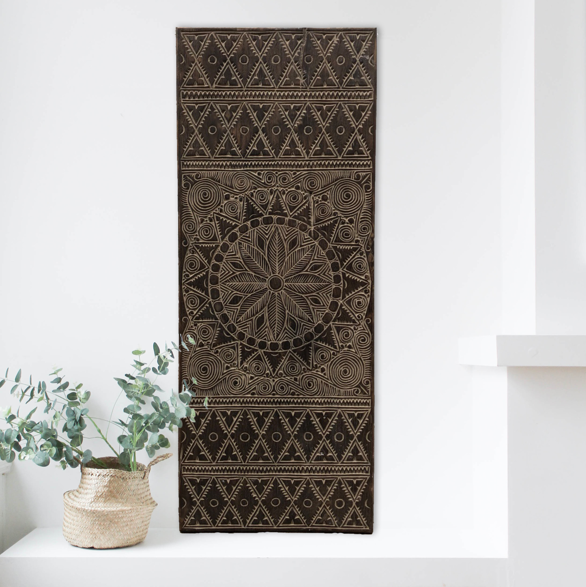 Simply Pure New Timor - langwerpig ( 150x60 cm) - Antiek bruin