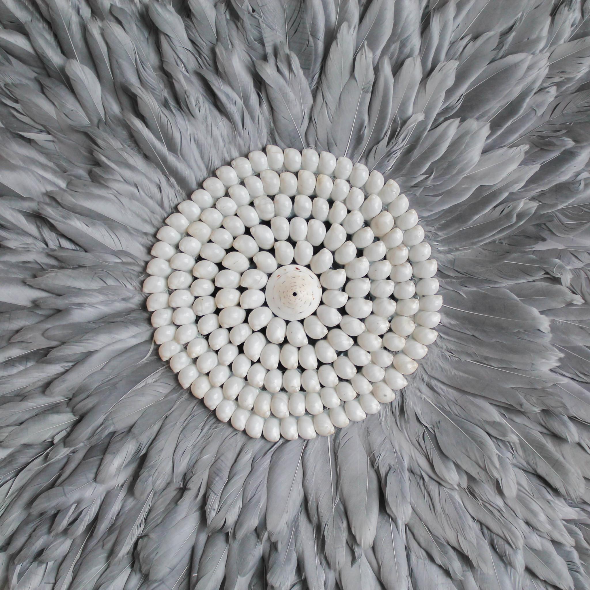 Juju wanddecoratie grijs