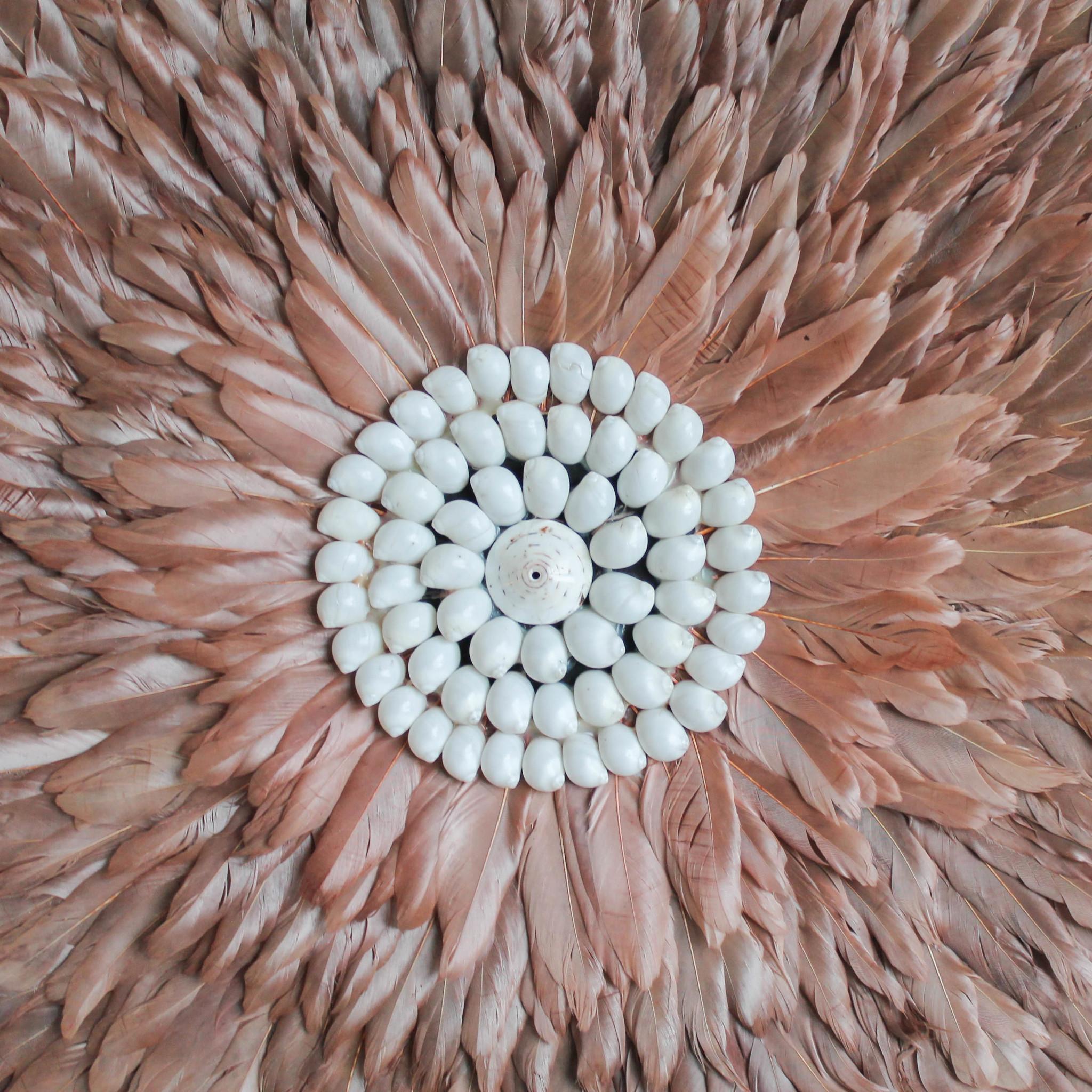 simply pure Juju wanddecoratie bruin