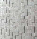 simply pure Houten wandpaneel Design QUADRINO Kleur: Whitewash