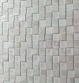 simply pure Wandpanele aus Holz Design QUADRINO PINE Kleur: Whitewash/ Verschiedene Abmessungen