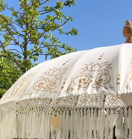 simply pure Luxus Bali Boho Sonnenschirm