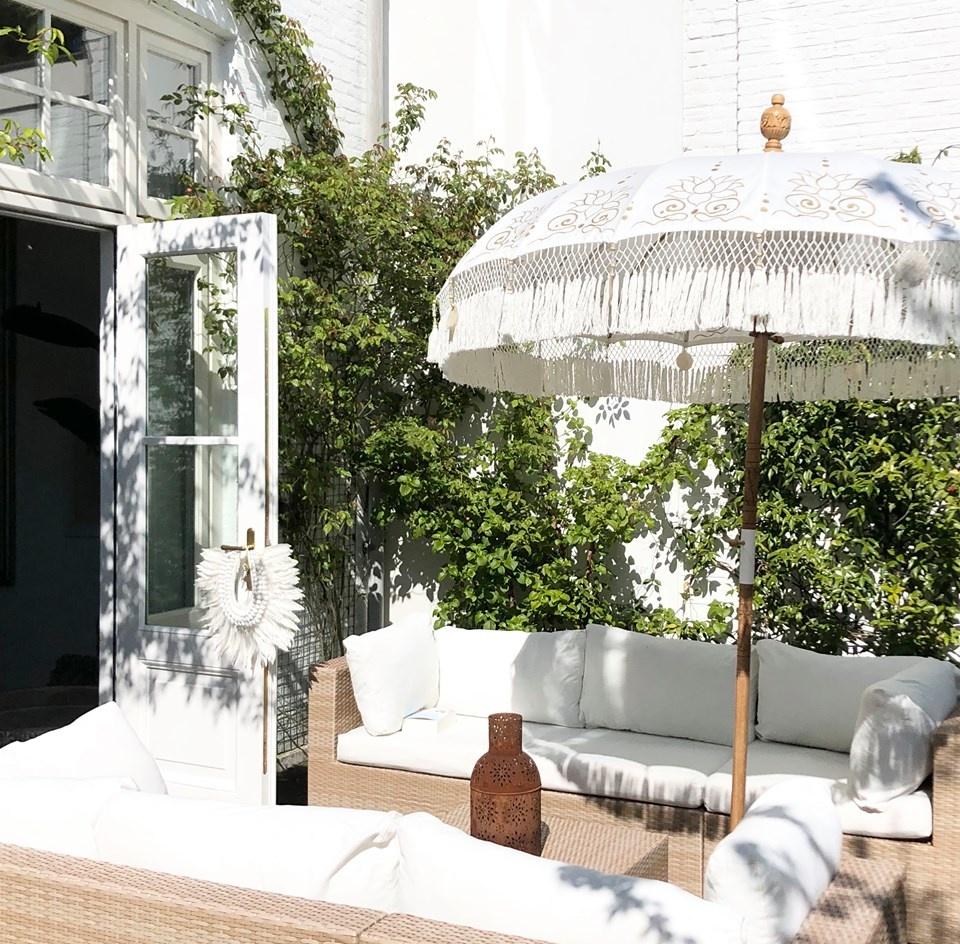 simply pure Handcrafted luxury Bali Boho umbrella ( dia: 2meter) Design LOTO