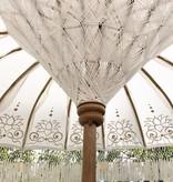 simply pure Handgefertigter Bali Boho Sonnenschirm ( Durchmesser: 2 meter) Design LOTO