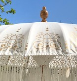simply pure Handgemaakte Luxe Bali Boho parasol ( dia: 2meter) Design LOTO