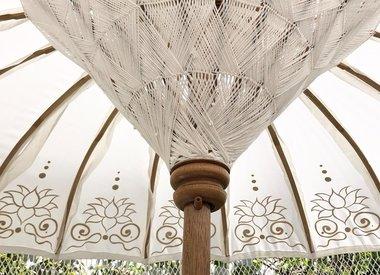 Luxe Bali boho parasols