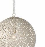 Hängelampe Design ORIENTE Farbe: Antikweiss / Durchmesser 40 cm