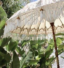 simply pure Luxus Bali Boho Sonnenschirm NIRVA