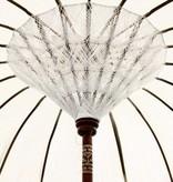 simply pure Handcrafted luxury Bali Boho umbrella ( dia: 2.35 meter) Design BLANCO - Copy