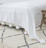 Simply Pure Handgefertigter Vintage Beni Ouarain Teppich aus Marokko 200 x 300 cm
