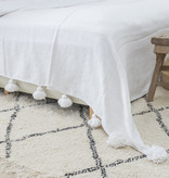 Simply Pure Handknotted Vintage Beni Ouarain rug from Morocco 200 x 300 cm