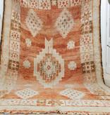 Simply Pure Handgefertigter Vintage Boujaad  Berber Teppich aus Marokko 193 x 285 cm