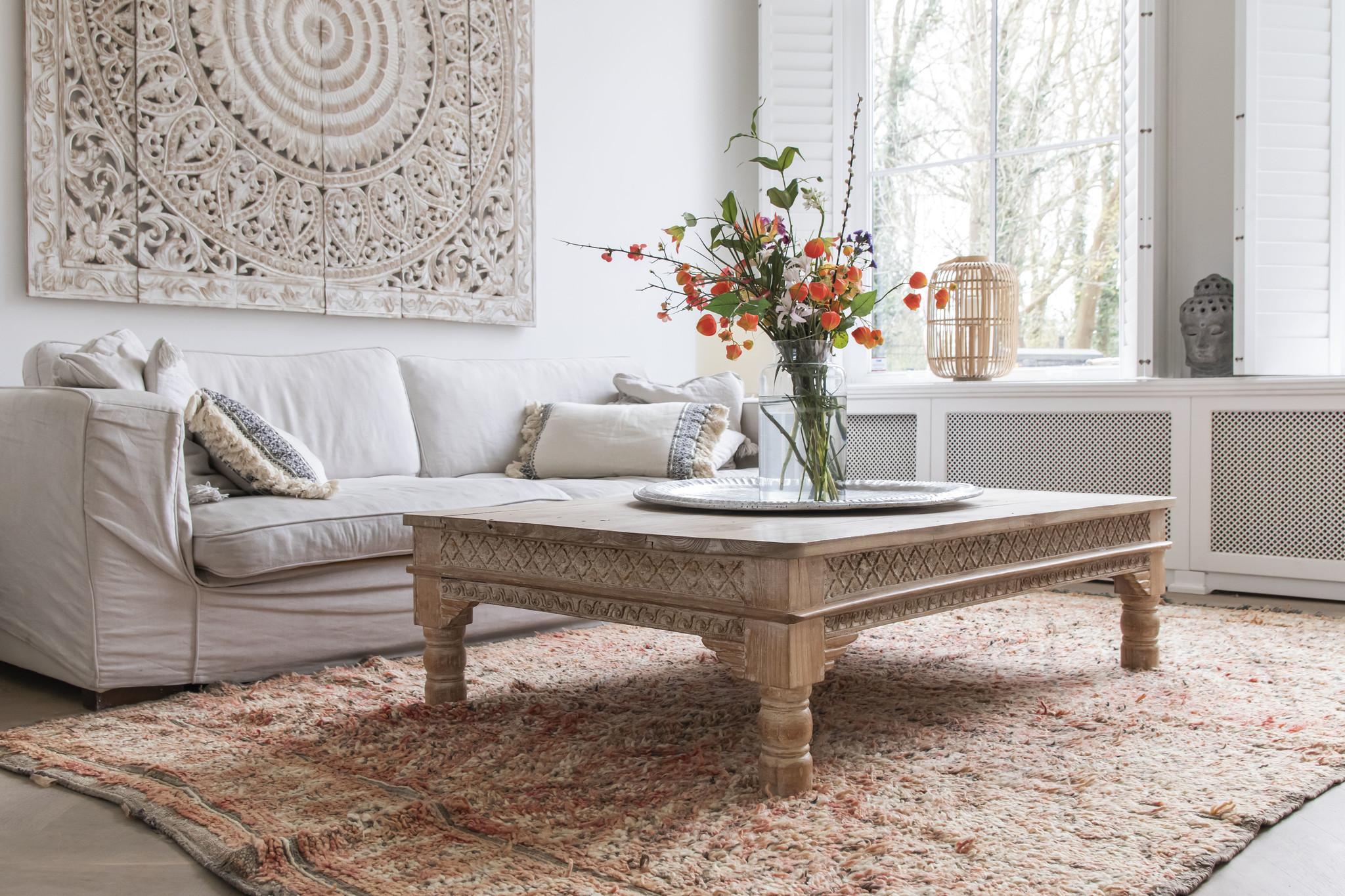 Simply Pure Handgefertigter Vintage Beni M'guild Berber-Teppich aus Marokko  196 x 335 cm