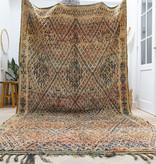 Simply Pure Handgemaakt vintage Beni M'guild uit Marokko 190 x 337 cm