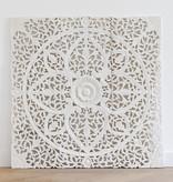 Simply Pure Geschnitzte Wandpanele Design LOTO Farbe: Weiss verschiedene Abmessungen - Copy