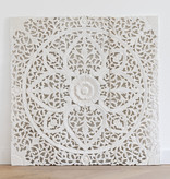 Simply Pure Hand carved wall panel Design LOTO white , several sizes - Copy
